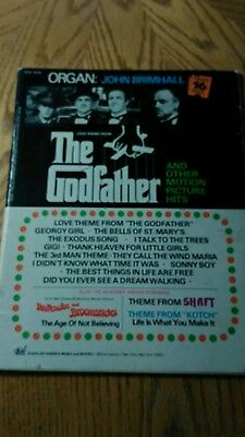 John Brimhall The Godfather Shaft Kotch music song book organ 1972
