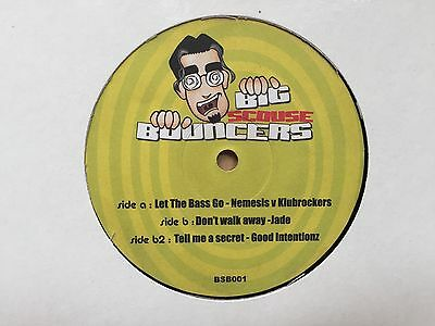 "Big Scouse Bouncers Scouse House Bounce 12"" Record Vinyl"