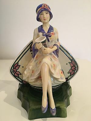 Charlotte Rhead Kevin Francis/peggy Davies Figure Limited Edition Mint Conditin
