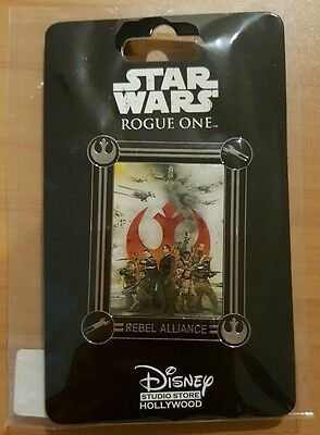 DSF GSF DSSH Star Wars Rogue One - Rebel Alliance Pin LE 300