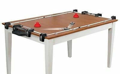 NHL Lock N Link Hover Portable Adjust Air Hockey FIT TO HOME TABLE Tabletop Game