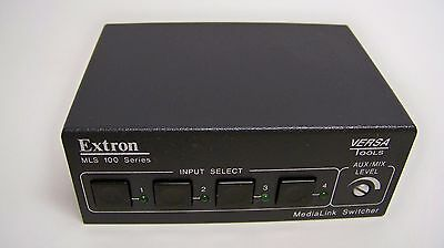 Extron MLS 100 A Four Input Stereo Audio Switcher (G3)