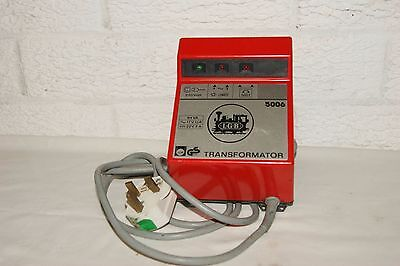 G scale LGB 5006 2 Amp transformer WORKS but SPARES or REPAIR