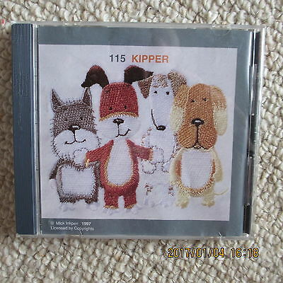 Janome Sewing Cards for EMBROIDERY/ Card no 115 KIPPER
