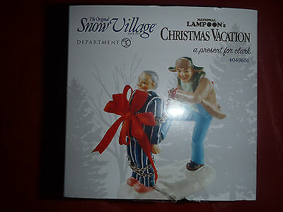 Department 56 National Lampoon Christmas Vacation A Present For Clark