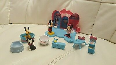 Mattel ~ Minnie Mouse Pet Boutique Playhouse