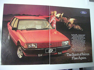 Ford Xd Falcon Gl Esp 6 Cylinder 2 Page Colour Magazine Advertisement