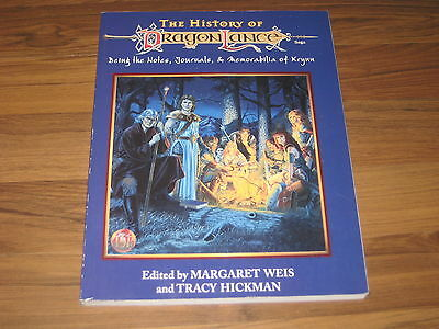 AD&D 2nd Edition Dragonlance The History Of Dragonlance Accessory TSR 8372