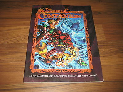 Mage The Sorcerers Crusade Companion Softcover White Wolf 1999 WW 4805 VG