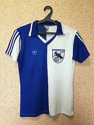 Rare Grasshoppers Switzerland 1980/1984 Home Football Shirt Jersey Maglia Adidas