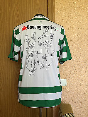 ST. GALLEN SWITZERLAND 2009/2010 #HOME FOOTBALL SHIRT JERSEY JAKO Autographs