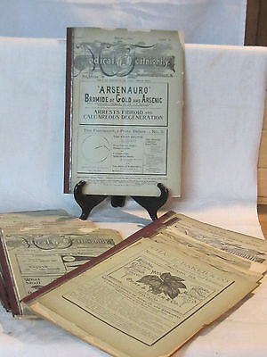 11 volumes of The Medical Fortnightly magazine frm 1894 and 1895