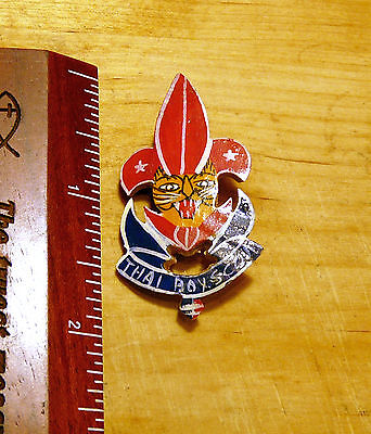 Thailand Boy Scouts Badge Pin