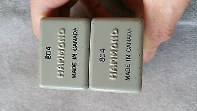 Pair of Hammond 804 Audio Transformers