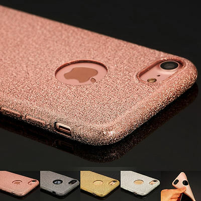 Luxury Glitter Ultra-Thin Soft Silicone TPU Case Cover Skin For iPhone 7 7 Plus