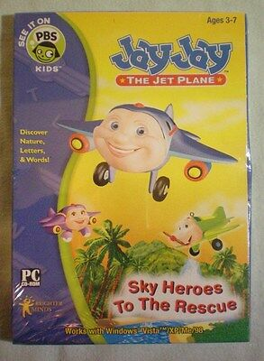 Jay Jay the Jet Plane: Sky Heroes to the Rescue (Mac and Windows) PC CD-ROM