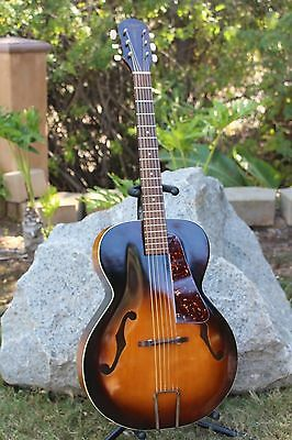 Beautiful Vintage 1940/50s Orpheum Acoustic Archtop Kay Restored!