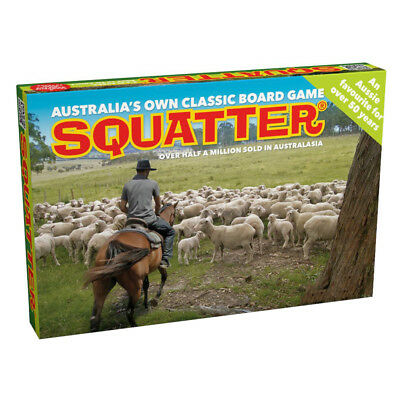Squatter Board Game NEW