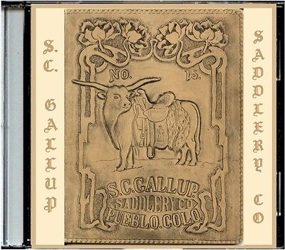1908 S.C. Gallup Saddlery Co #15 on CD - Saddles, Harness and more