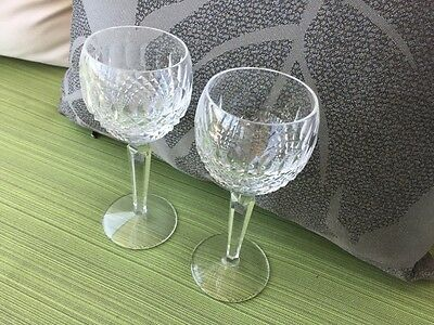 Waterford Colleen Tall Hock wine glass x 6