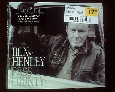 Don Henley - Cass County SEALED CD Digipak Deluxe Edition