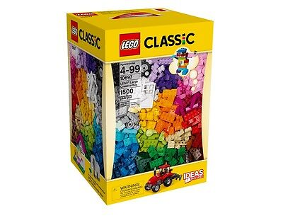 LEGO 10697 Classic XXL Large Creative Building Box 1500 Pieces