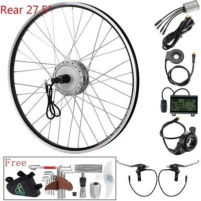 "36v350W 27,5"" rear motor with Cassette e-bike Hub Motor Conversion kit"