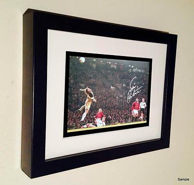 'THE CHIP' Signed Eric Cantona Manchester United Autographed Photo Picture 5