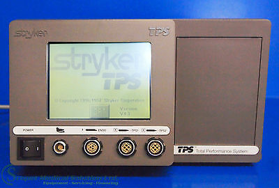 Stryker TPS Total Performance System
