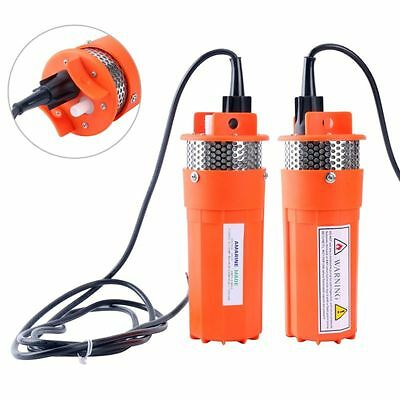 24V Farm & Ranch SOLAR POWERED Submersible DC Water Well Pump - Lift 230FT