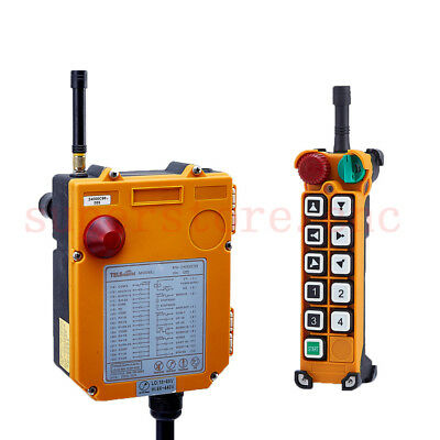 F24-10D 2 speed Wireless Remote Control Electric Chain Hoist Crane Controller AC