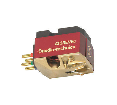 Audio Technica AT33EV Moving Coil MC Cartridge AT-33EV Brand New Boxed