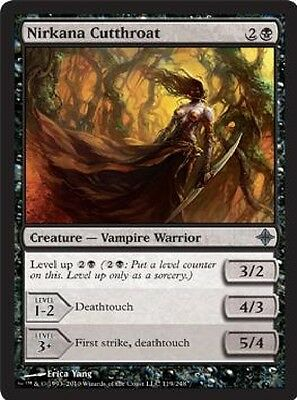 MTG: Nirkana Cutthroat - Black Uncommon - Rise of the Eldrazi - ROE - Magic Card