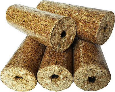 Nielsen Round Wood Briquettes Heat Logs Full and Half Pallets