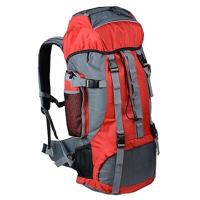 70L Waterproof Outdoor Sport Backpack Mountain Hiking Camping Travel Rucksack