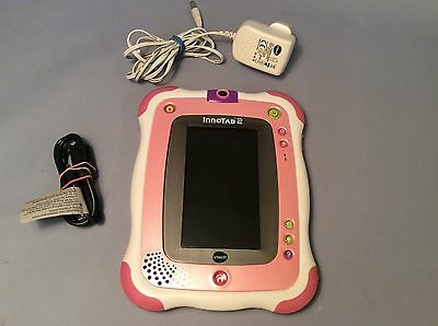 VTech Innotab 2 Pink Girls Educational Game Console