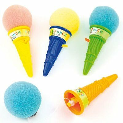 6 Ice Cream Poppers - Pinata Toy Loot/Party Bag Fillers Wedding/Kids
