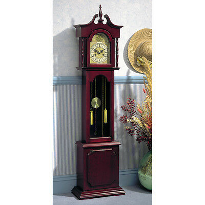 Colonial Grandfather Clock (Weight Driven)