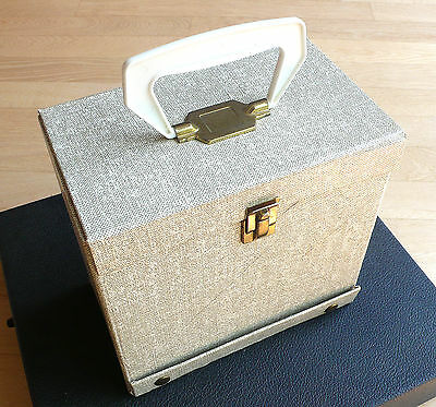 Orig. Single Koffer - 60s US 45 Record Case