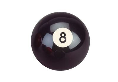 Billard Pool Boule Unique Boule de Billard Noirs 8 Standard Table, 57,2mm