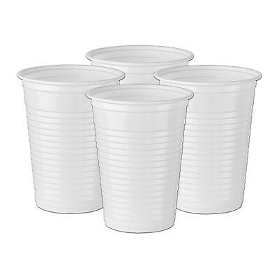 2000 7oz WHITE PLASTIC CUPS WATER COOLER/VENDING