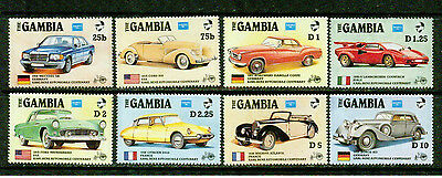 Gambia -1986- Antique Cars  -Vf**