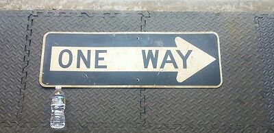 vintage nyc one way sign