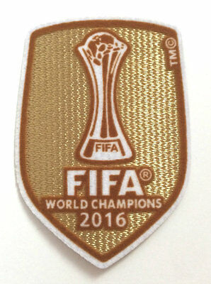 Real Madrid FIFA 2016 Patch Club World Champions Soccer Badge 2016-2017 Jersey