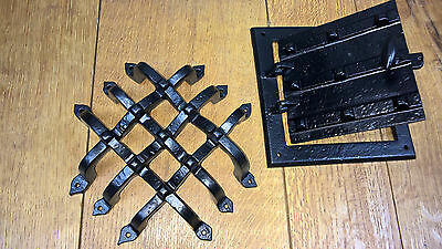 Door Grill Viewer Speakeasy iron grill Castle Club Medieval Judas Plate Security