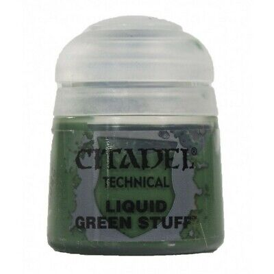 Citadel Technical: Liquid Green Stuff Games Workshop Paint Brand New 99219999035
