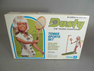 Vintage Kenner Dusty Tennis Sports Set Doll Accessory NOS
