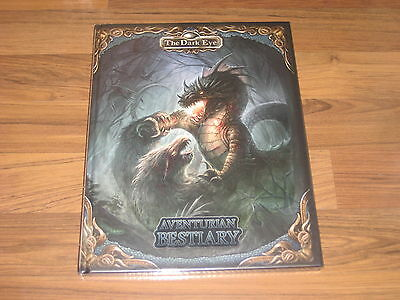 The Dark Eye Aventuria Bestiary Sourcebook Hardcover Ulisses 2016 New EN