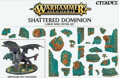 AoS: Shattered Dominion Large Base Detail New Warhammer 40k Citadel 40000 GW