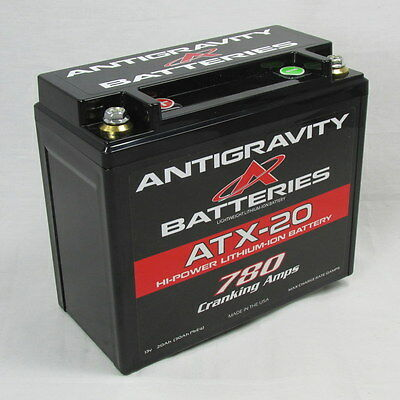 Antigravity Batteries ATX20 OEM Case Size 780CCA Lithium Ion Battery MADE IN USA